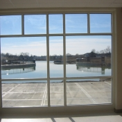 Faculty office lake view
