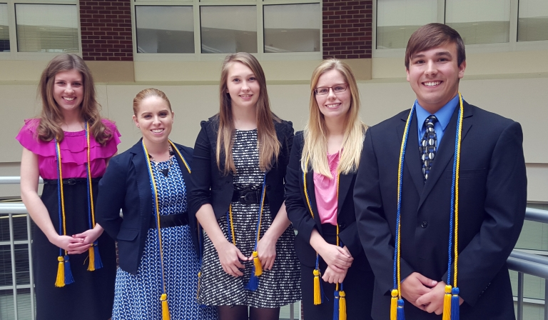 Spring 2015 Beta Gamma Sigma inductees