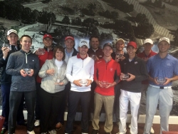 Kim Kincer (4th from left) with winning North Team