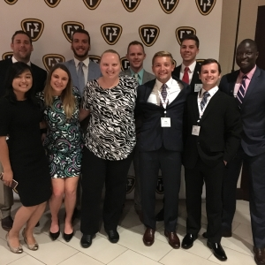 EKU students at the 2017 GIS conference in Dallas
