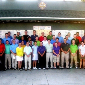 EKU PGM students at National PGA Leadership Conference