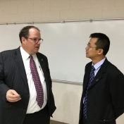 Mr. Reddick with MMIB Chair Weiling Zhuang