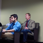 Construction Management breakout session in Herndon Lounge