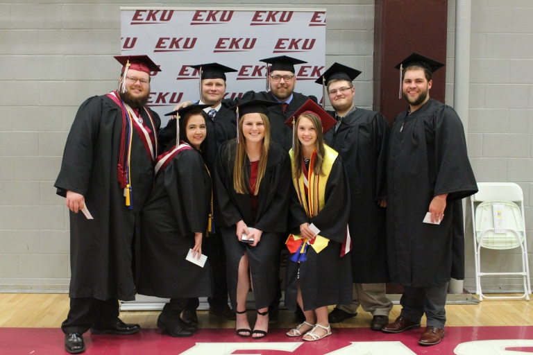 CBT Students Prepare for Spring 2018 Convocation