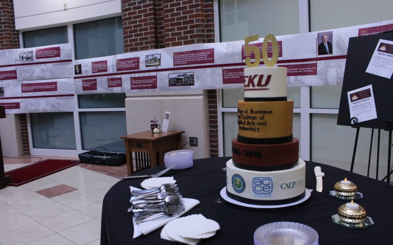 The CBT Jubilee Cake and 50-Year Timeline