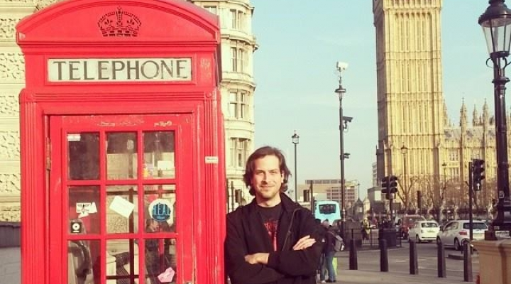 Brandon Cooper - Classic shot in front of Big Ben