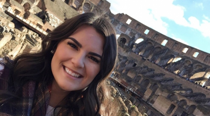Brianna Saylor, RMI major travels abroad