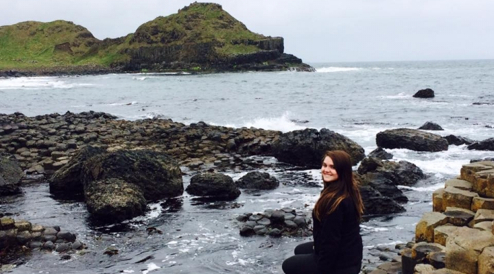 Abby McDulin in Ireland