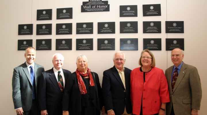 Wall of Honor dedication, October 2011