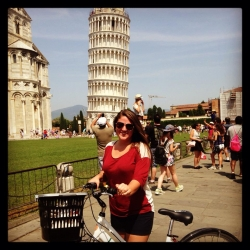Audrey Midkiff in Italy
