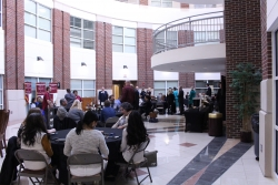 scholarship recipients, donors, family gather in Vice atrium