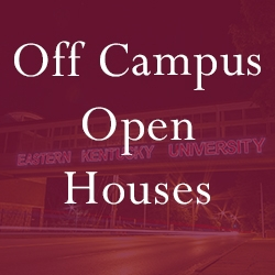 Off Campus Open Houses graphic