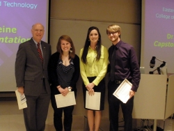 First place winners from Applied Engineering & Technology