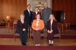 Back: Cobb, Vice, Norwitz; Front: Jarboe, Lodge, Crume (Mr. Adams not pictured)
