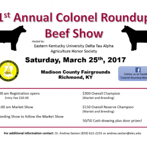 Colonel Beef Roundup graphic