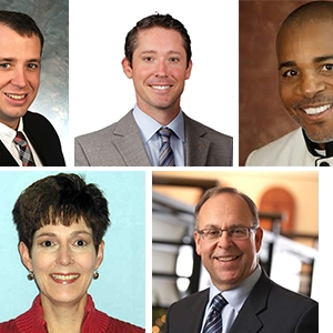 l-r: Jonathan Shell, Brandon Berry, Alvin Miller, Tracy Wilkerson, Mike Conway
