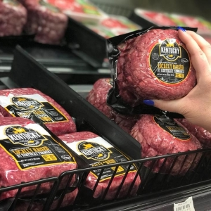 photo of locally raised Kentucky beef package