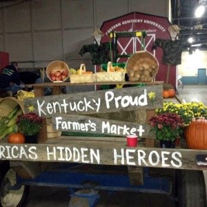 EKU Agriculture 2012 Homecoming float
