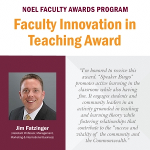 Fatzinger Faculty Innovative Teaching Award