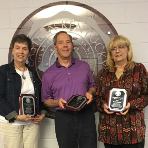From left: Kathy Barr, Dave Dailey, and Sonia Smith