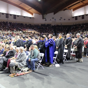 Picture of Fall 2019 Graduation Ceremony
