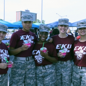 Colonel's Battalion Cadets enjoy Biz-Tec Blast