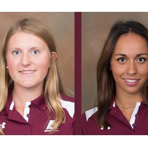 Amanda Lindahl (left) and Emilie Simmons (right)