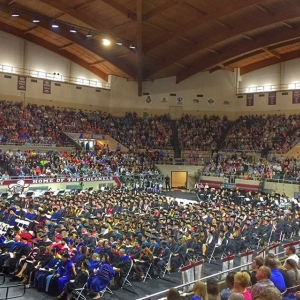 EKU Spring Graduation Ceremonies in Alumni Coliseum