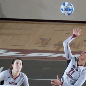 Ashley Edmond (21) earned All-OVC honors for the third straight year