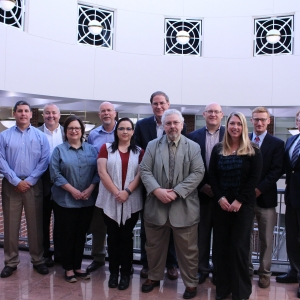 Industry leaders participating in EKU's Supply Chain Management Advisory Council