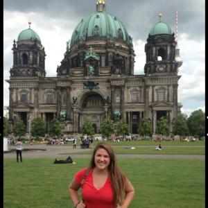 In front of the Berlin Cathedral