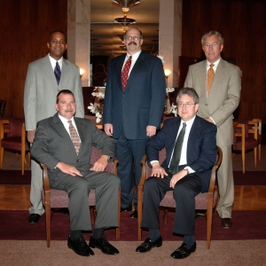 Standing: Coakley, Long, Craft; Seated: Williams, Ramirez