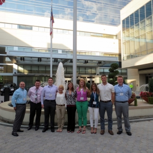 EKU RMI students at the Charlotte conference